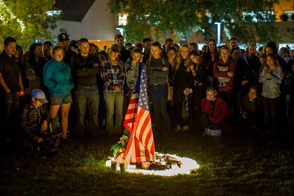 Thousand Oaks mass shooting  Getty Images