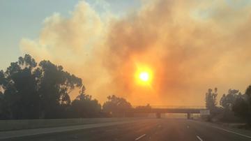 #iHeartSoCal - Woolsey Fire Jumps Freeway, Mandatory Evacuations Ordered In Malibu