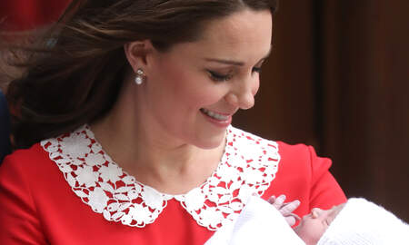 Music News - The Palace Released A Brand New Photo Of Prince Louis and Kate Middleton
