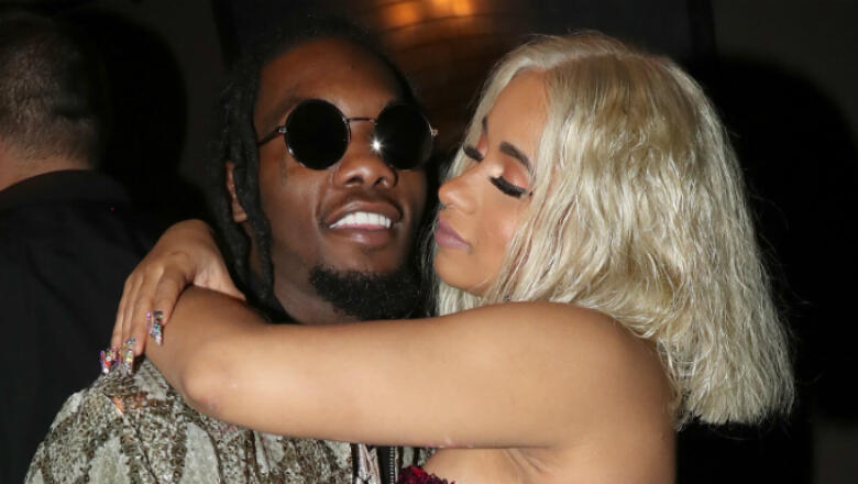 Cardi B Says Offset's New Album Makes Her Cry