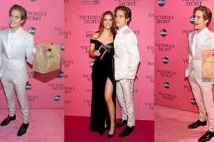 Dylan Sprouse Brought Model Girlfriend Burgers At Victoria's Secret Show