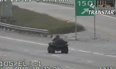 Weird News - 15-Year-Old Driving ATV Shares Video Of Police Chase On Snapchat