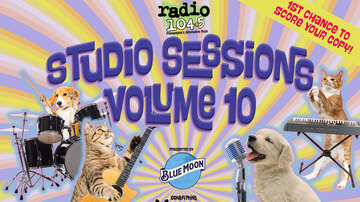Radio 104.5 Studio Session CDs - POSTPONED- Grab Your Copy of Radio 104.5 Studio Sessions Vol. 10 @ Milkboy