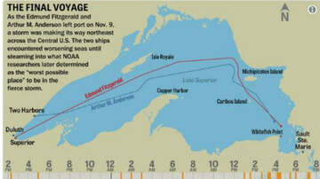 Conrad - 43 years ago today: Wreck Of the Edmund Fitzgerald