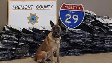 Local News - Western Iowa police dog finds 300 lbs of marijuana in RV