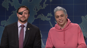 Trending -  Pete Davidson Apologizes to Congressman-Elect Dan Crenshaw on SNL