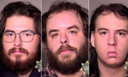 National News - Three Arrested After Booby Trap Injures Portland Cyclist