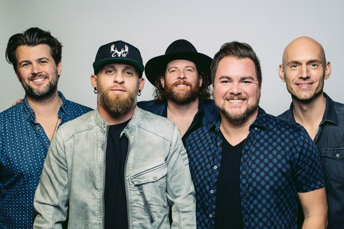 Brantley Gilbert & Eli Young Band Rock the Stage During Veterans Day Show
