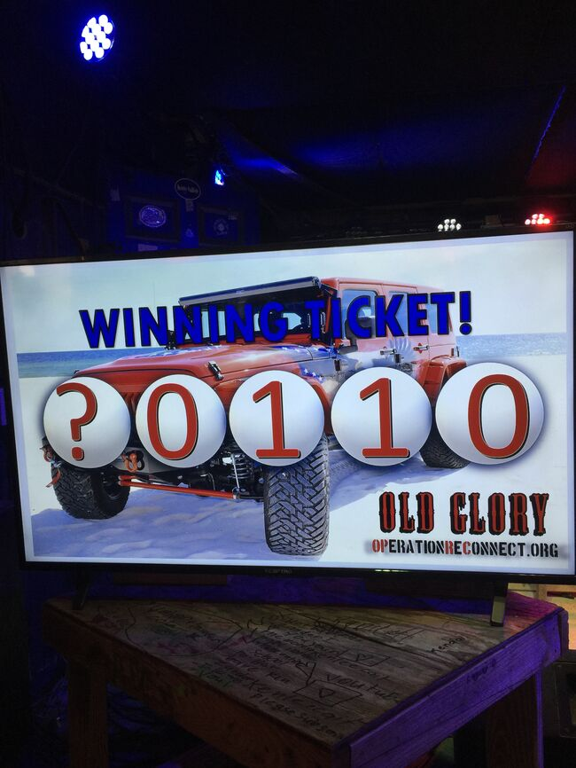 Winning Ticket for Old Glory from OPRC