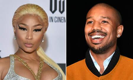 Trending - Nicki Minaj Shoots Her Shot At Michael B. Jordan While Accepting Award