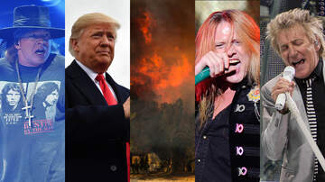 Rock News - Rockers Light Up Trump Over Wildfire Response
