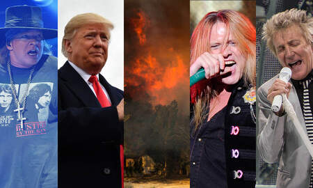 Rock News - Rockers Light Up Trump Over Wildfire Response