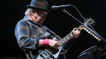 Lisa Berigan - NEIL YOUNG: LOSES HOME IN WILDFIRES