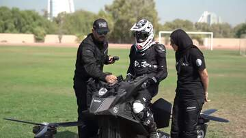 Weird, Odd and Bizarre News - Police May Patrol Dubai Streets Using Hoverbikes