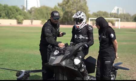 Weird News - Police May Patrol Dubai Streets Using Hoverbikes