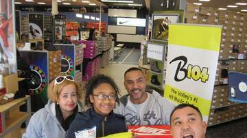 Photos - Photos: B104 at Shoe Carnival Whitehall