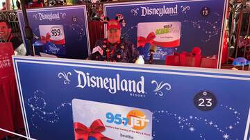 Sarge - Enjoying the Holiday Season at Disneyland!