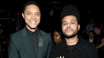 Entertainment News - The Weeknd Says Trevor Noah Is His 'Real Life Twin': See The Photos