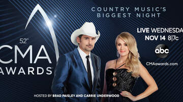 - The 52nd Annual CMA Awards