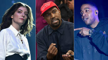 Entertainment News - Lorde Accuses Kanye West & Kid Cudi Of Stealing Her Stage Design