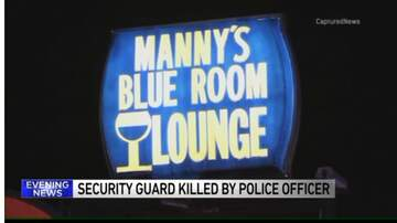 Chris Michaels - Vigil for security guard at Manny's in Robbins