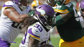 Vikings - With Cook back, Vikings ready to run as weather turns cold