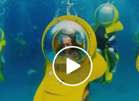 Mix Mornings With Lori - Would You Ride This Under Water Scooter?