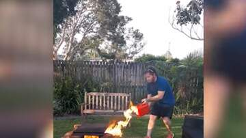 Scott - Using Gas To Make A Better Fire Ends Up Badly