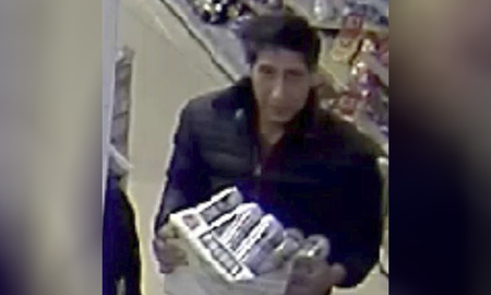National News - David Schwimmer's Beer-Stealing Doppelgänger Arrested, British Police Say
