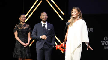 Entertainment News - John Legend Tears Up Honoring Chrissy Teigen At Glamour's Women Of The Year