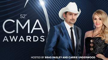 Carson - 2018 CMA Awards and Nominees