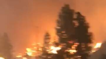 Jake Dill - Insane Video from Woman Driving Through Inferno to Escape Fires