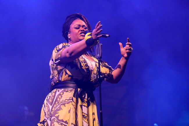 The 12th Annual Jazz In The Gardens Music Festival - Day 1 MIAMI GARDENS, FL - MARCH 18: Singer Jill Scott performs on stage at The 12th Annual Jazz In The Gardens Music Festival - Day 1 at Hard Rock Stadium on March 18, 2017 in Miami Gardens, Florida. (Photo by Aaron Davidson/Getty Images for Jazz in The Gardens Music Festival) Editorial subscription SML 3757 x 2504 px | 12.52 x 8.35 in @ 300 dpi | 9.4 MP  Size Guide Add notes  SUBSCRIPTION DOWNLOAD Details Restrictions:	Contact your local office for all commercial or promotional uses. Full editorial rights UK, US, Ireland, Canada (not Quebec). Restricted editorial rights for daily newspapers elsewhere, please call. Credit:	Aaron Davidson / Stringer Editorial #:	654999396 Collection:	Getty Images Entertainment Date created:	March 18, 2017 License type:	Rights-managed Release info:	Not released. More information Source:	Getty Images North America Object name:	95001753 Max file size:	3757 x 2504 px (12.52 x 8.35 in) - 300 dpi - 2.53 MB More from this eventView all