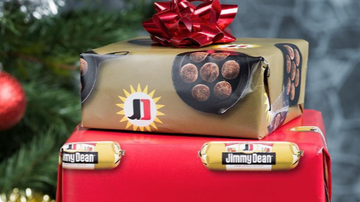 Steve - Jimmy Dean offering sausage-scented wrapping paper?