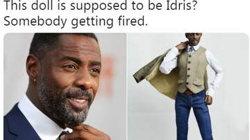 Johnny's House Live Blog - Idris Elba Doll