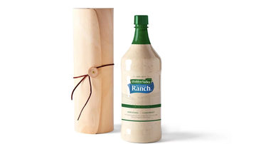 Weird News - Enormous Bottle Of Ranch Dressing Now Available