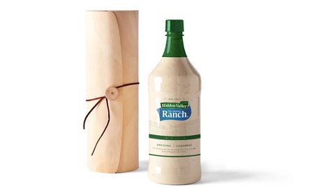 National News - Enormous Bottle Of Ranch Dressing Now Available