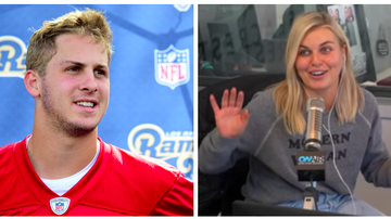 Ryan Seacrest - Tanya Rad Reveals Rams Quarterback Jared Goff Slid Into Her DMs