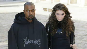 Music News - Lorde's Stage Designer Says Kanye West & Kid Cudi Didn't Steal The Set Idea