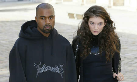 Trending - Lorde's Stage Designer Says Kanye West & Kid Cudi Didn't Steal The Set Idea
