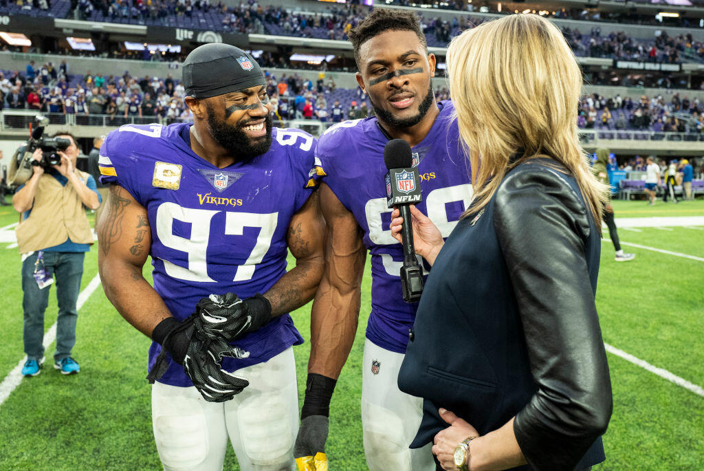 """See a little, see a lot"" Everson Griffen on preparing to face the Chicago"