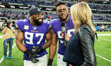 Vikings - See a little, see a lot Everson Griffen on preparing to face the Chicago