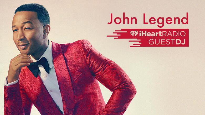 John Legend Guest DJ