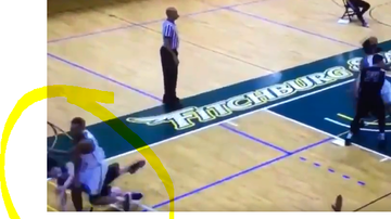 Kimberly and Beck - VIDEO: Sucker Punch at Fitchburg State Basketball Game