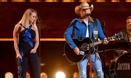 Music News - Jason Aldean & Miranda Lambert Perform 'Drowns The Whiskey' During CMAs