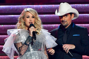 Carrie Underwood And Brad Paisley CMA Moments We Actually LOL'ed At