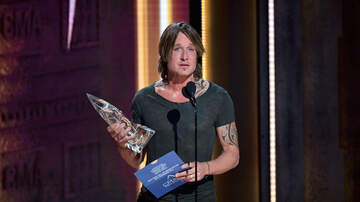 iHeartCountry - Keith Urban Tearfully Accepts Entertainer of the Year Award at 2018 CMAs