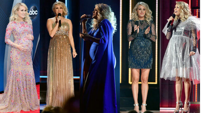 Carrie Underwood 2018 CMAs Dresses