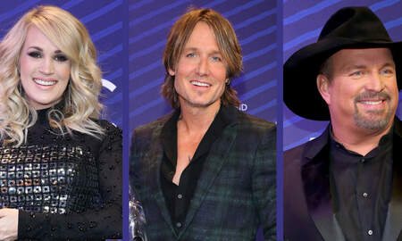 CMT Cody Alan - Carrie, Keith, and Garth's 'Cry Pretty' Moments From CMA Awards