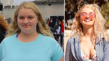 Entertainment News - Teen's Dramatic Weight Loss Makes Her An Instagram Celebrity